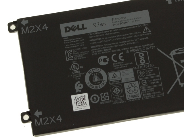 Pin 97WHr của dell xps 15
