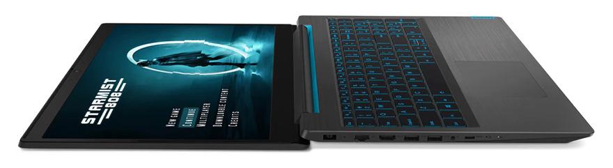 Lenovo Ideapad Gaming L340 có góc mở màn hình lên tới 180 độ
