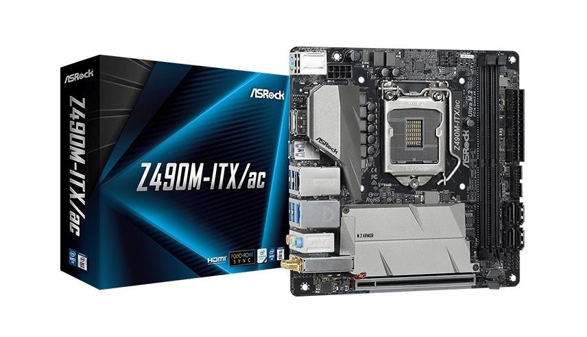 mainboard ASROCK Z490M-ITX/AC