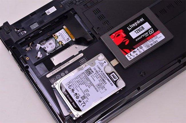 nâng cấp ổ cứng laptop