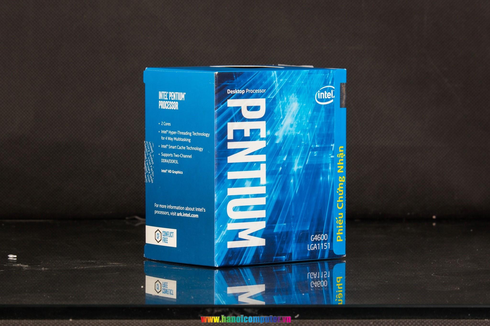 Gi Gy Bo Deal Khuynh O Gim Ti 1600000 Ng Cho B My Intel Pentium G4600 36ghz Kabylake Socket 1151 Y Chnh L Th H Cpu Mi Nht Ca Mt S Ci Tin Mnh M Dual Core Khng Ch N Thun Hai Nhn Nh
