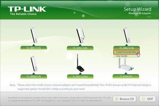 Скачать драйвера для windows 7 tp-link tl-wn727n.
