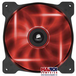 Fan Case Corsair Air Series AF140 LED Red Quiet Edition High Airflow 140mm Fan
