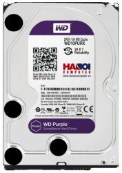 HDD Western Purple 3TB/5400 Sata 3 64Mb
