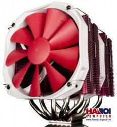 Tản nhiệt CPU Phanteks TC14PE Red Edition - Dual Fans Ultimate Cooler
