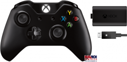 Gamepad Microsoft XBOX One Wireless Controller + Play & Charge Kit