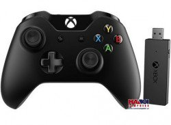 Gamepad Microsoft XBOX One Wireless Controller + Wireless Adapter for Windows