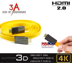 Cable HDMI 2.0 cao cấp 3A - 3m