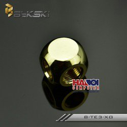 Fitting Bykski Splitter 3F Luxury Gold.