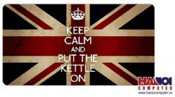 Mousepad Custom UK Flag Keepcalm 600x300mm