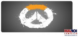 Mousepad Custom Overwatch Grey Logo 800x300mm.