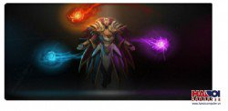 Mousepad Custom Dota2 Invoker 800x300mm.