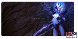 Mousepad Custom Dota2 Vengeful Spirit 800x300mm.