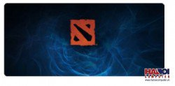 Mousepad Custom Dota2 Dark Blue Logo 800x300mm.