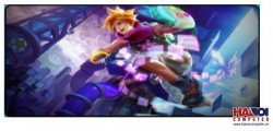 Mousepad Custom LOL Arcade Ezreal  800x300mm.