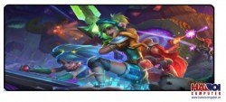 Mousepad Custom LOL Arcade Riven 800x300mm.