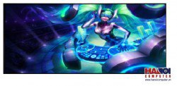 Mousepad Custom LOL DJ Sona Kinetic 800x300mm.