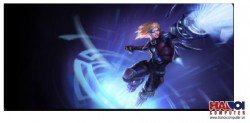 Mousepad Custom LOL Ultimate Ezreal  800x300mm.