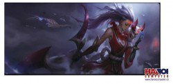Mousepad Custom LOL Bloodmoon Diana 800x300mm.
